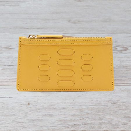 The Piccadilly Card Holder - Yellow